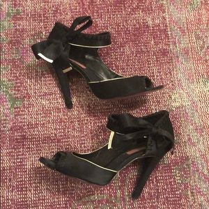 Betsey Johnson Satin Heels